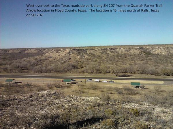 Quanah Parker Trail Giant Arrow Installations